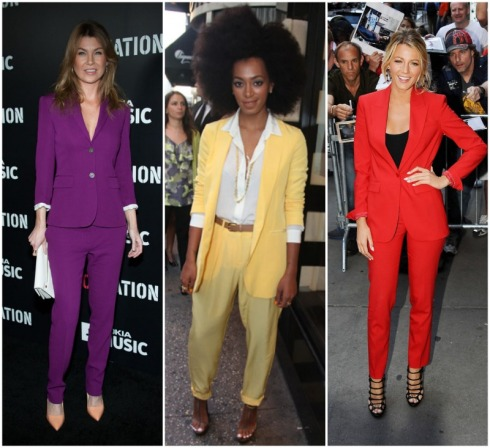 bright-suit-trend-red-carpet-celebrity-purple-pant-suit-ellen-pompeo-yellow-solange-knowles-red-blake-lively1